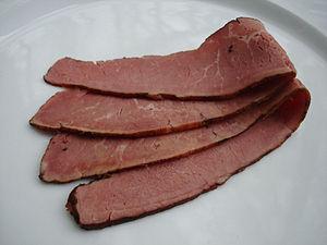 Pastrami beef